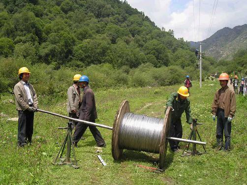 水泥电线杆厂家施工案例
